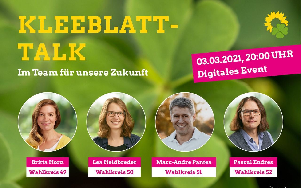 Im Team für die Südpfalz – Der Online Kleeblatt Talk