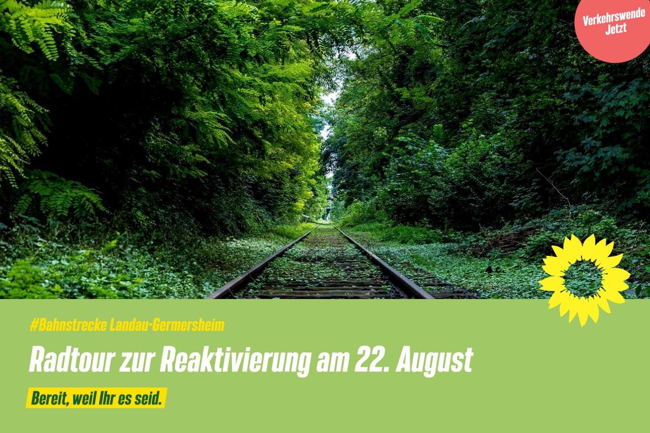 Radtour zur Reaktivierung: Pfälzer GRÜNE laden zur Sternfahrt am 22. August